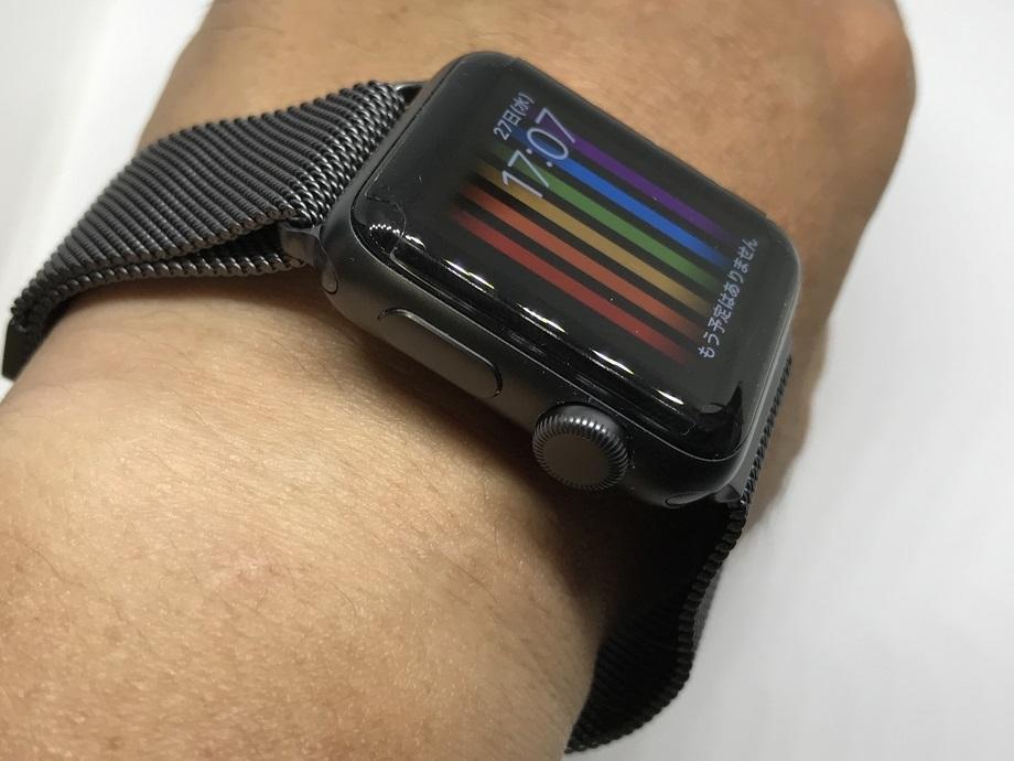 Apple Watch3 vs SONY SmartWatch2