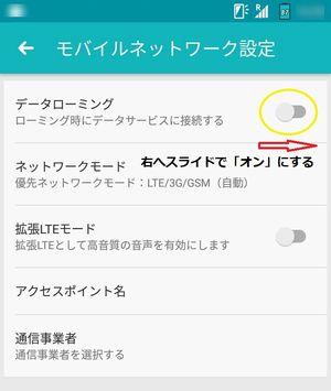 Fujitsu arrowsM03,貼るSIM,Flexiroam X